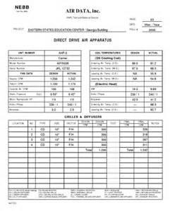 Air Balance Report Template by Air Balance Report Template Air Balance Report