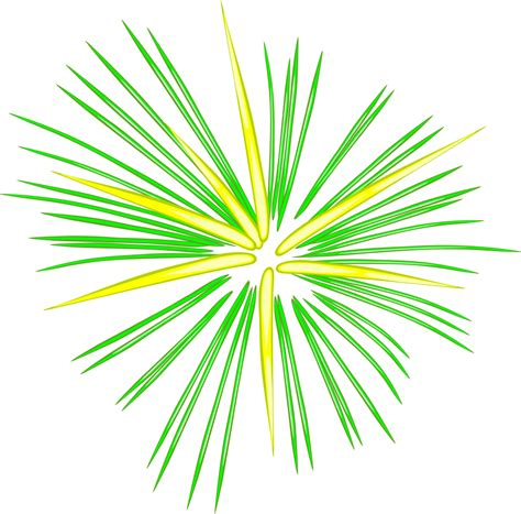 Green Fireworks PNG 900px Large Size   Clip arts free and