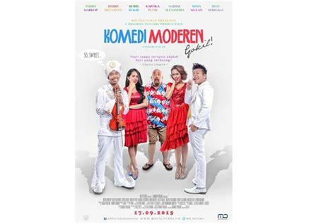 film komedi moderen gokil indro komedi modern gokil tak akan gantikan warkop