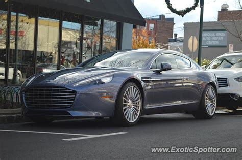 Summit Aston Martin by Aston Martin Rapide Spotted In Summit New Jersey On 11 27