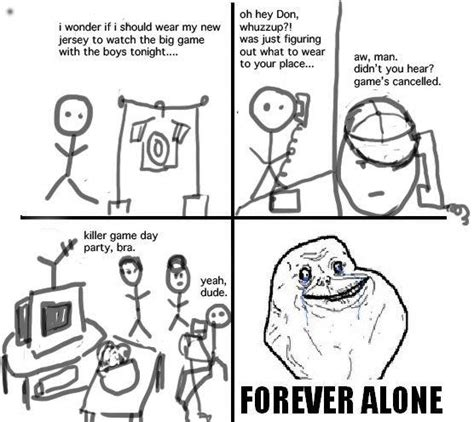 Forever Alone Meme Origin - image 94306 forever alone know your meme