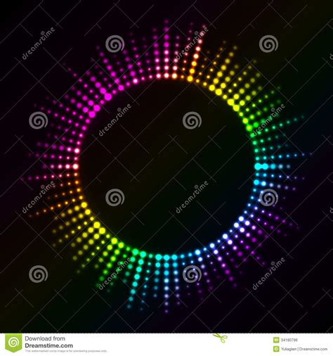 colorful lights royalty free stock image image 34180796
