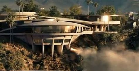 iron man mansion tony stark s home destroyed in super bowl spot represents