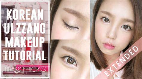 tutorial makeup ulzzang korean how to korean ulzzang uljjang make up ft aegyo sal