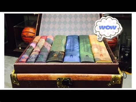 harry potter hardback box 0747553629 harry potter hardcover box set 1 7 unboxing youtube