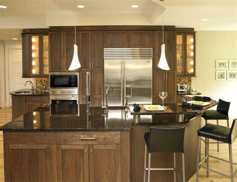 modern walnut kitchen cabinets walnut kitchen modern kitchen charlotte by e3