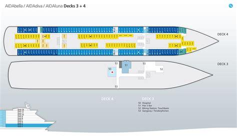 aida kabinen deck 4 aidabella informationen routen buchen ab 460