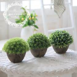 Home Decor Artificial Flowers Free Shipping For Za Kka Vintage Artificial Plants Home Decoration Small Bonsai Balcony Shelf