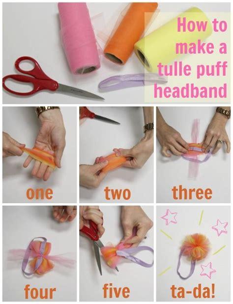 25 great ideas about tulle headband on diy