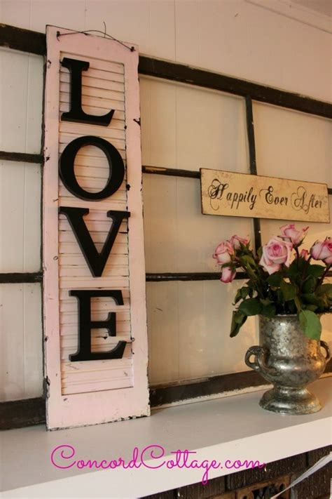 Shutter Wall Decor by Recycled Shutters As Meaningful Wall