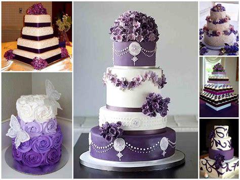 Wedding Cake Purple by Pretty Wedding Cakes Purple Siudy Net
