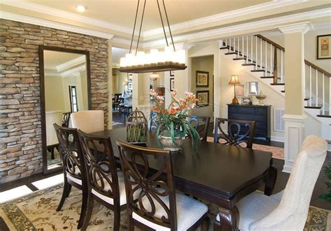 accent wall dining room accent walls accent walls and stones on