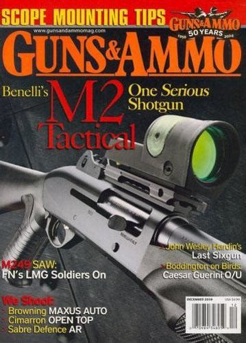 home security guns and ammo magazine of caliber