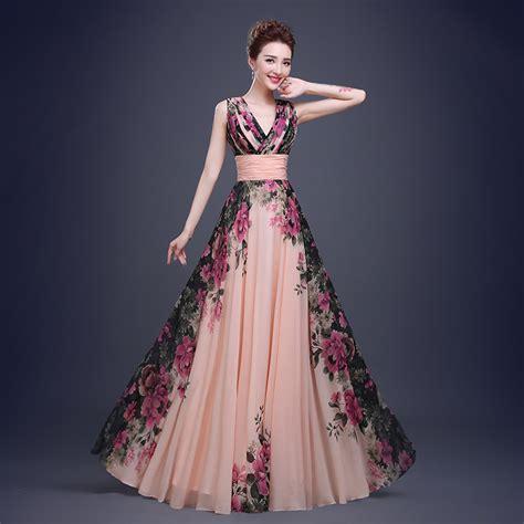 Bridesmaid Dress Fabric - print fabric prom dress chiffon prom dress bridesmaid