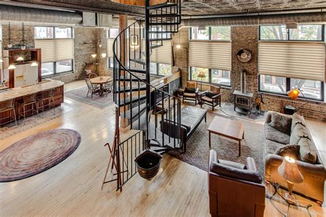 loft in a cozy industrial loft conversion in pilsen rents for 1 950