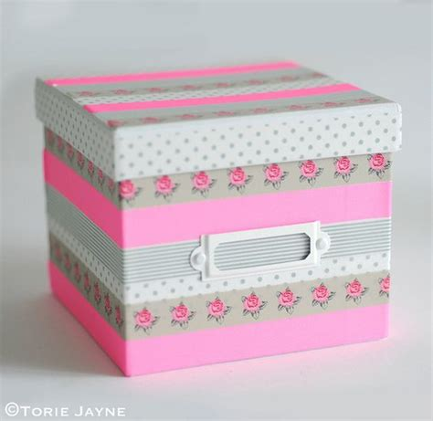 ideas para decorar cajas de persianas 14 ideas para decorar cajas con washi top 2018