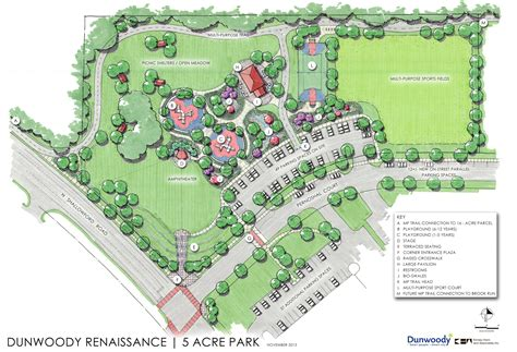 House Plans Open Concept by Dunwoody Residents Can Weigh In On New Park Plan On Nov