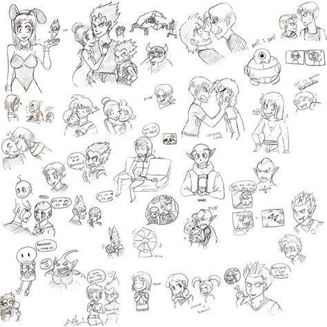 doodle dump doodle dump four by c00lbeanz