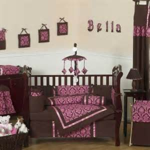 Pink And Brown Crib Bedding Sets 12 To Entertaining Pink Crib Bedding Options
