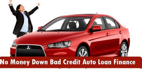 auto loan with bad credit no money bad got bad credit no money auto loan options abound