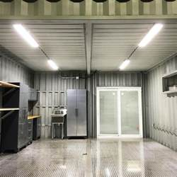 Container Garage by Custom Shipping Container Car Garage New Used Modified