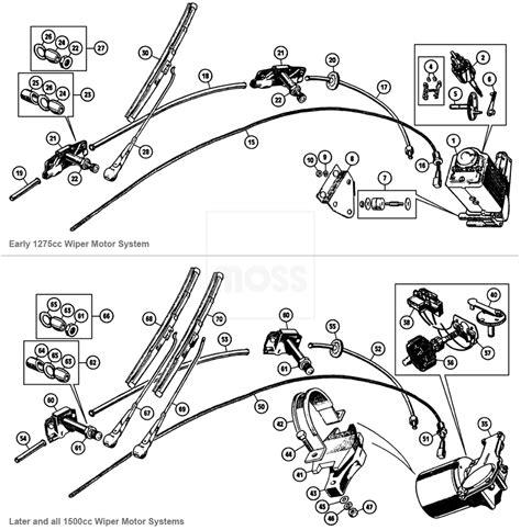 mga wiper motor wiring repair wiring scheme