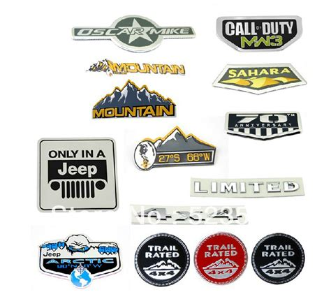 Jeep Badges Image Gallery Jeep Emblems And Badges