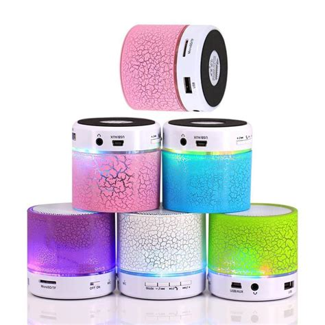 Speaker Mini Con bocina bluetooth con luz 160 00 en mercado libre