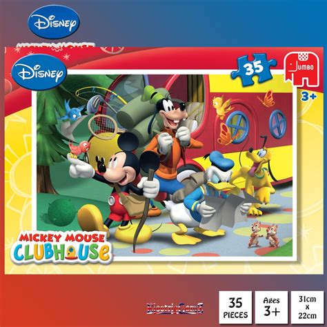 Puzzle Mickey Mouse Club mickey mouse clubhouse 35 jigsaw puzzle hiking