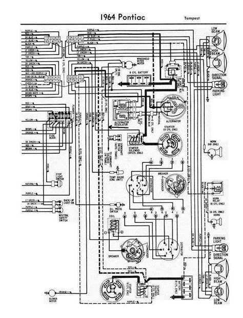alternator wiring diagram 1964 pontiac pontiac
