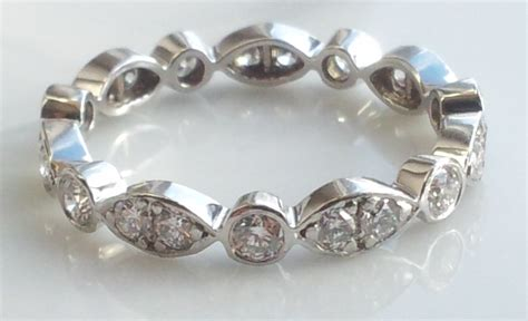 tiffany swing ring tiffany co platinum diamond jazz swing ring size l