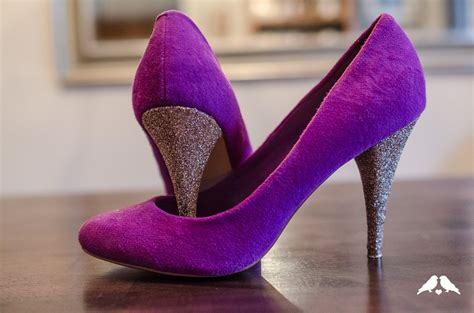 diy tutorial how to make diy glitter heels for shoes