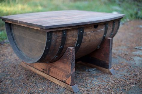 Barrell Coffee Table Willamette Barrel Coffee Table
