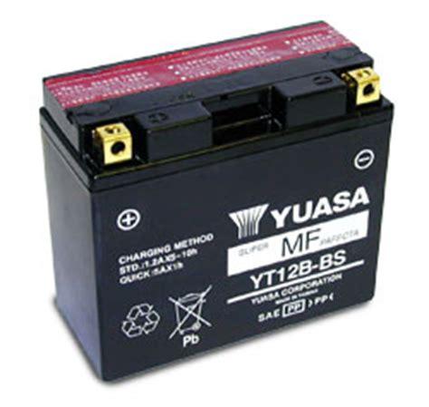 Motorrad Batterie Neu Bef Llen by Yuasa Batterie Yt12b Bs Ducati Ds 1000 Multistrada Ebay