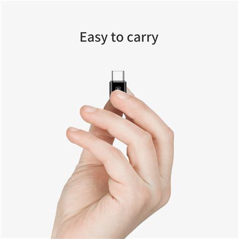 Baseus Mltifunction Micro Usb To Usb Otg Adapter For Smartphone Gold baseus micro usb to usb type c otg adapter camotg 01 black jakartanotebook