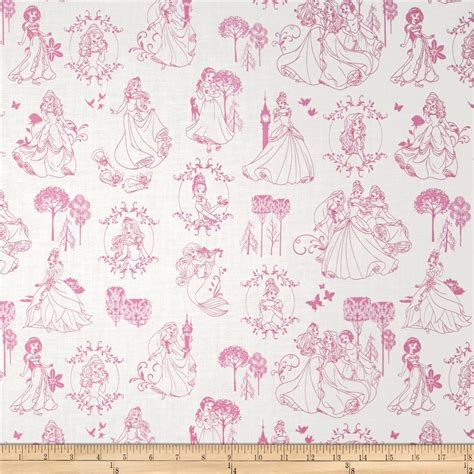 disney toile wallpaper disney princess toile light pink discount designer