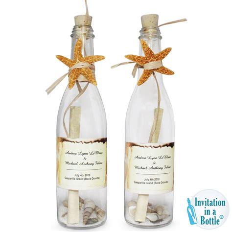 premium handmade personalized invitations starfish glow impressive luxury wine bottle