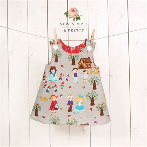 a line dress pattern tutorial toddler dress pattern girl girls a line dress pattern easy toddler reversible dress