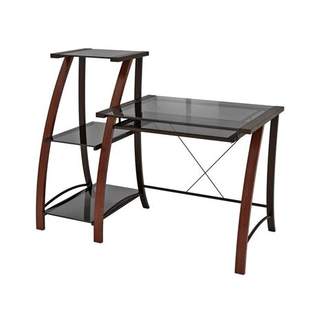 z line designs cherry desk zl2031 1dbu the home depot