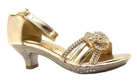 dress shoes gold rsb golden s metallic gold buckle strappy high