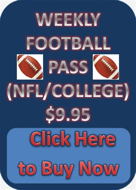 Printable Parlay Football Cards
