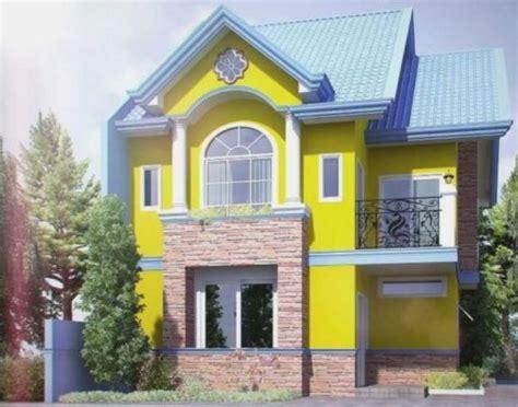 warna cat rumah  bagus  rumah sederhana