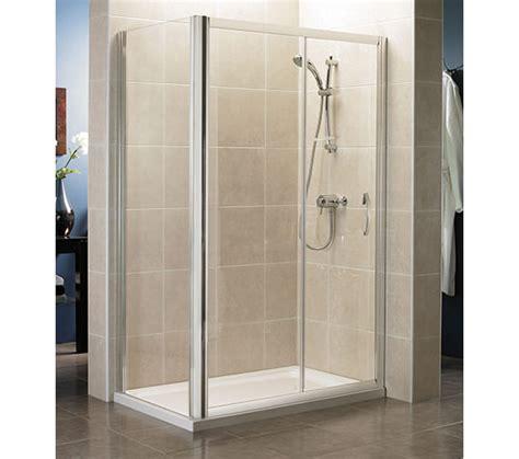 Shower Door 1000mm April Identiti2 Sliding Shower Door 1000mm Silver