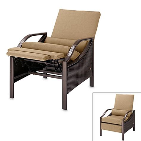 outdoor recliner chair lazy boy la z boy 174 stanford outdoor recliner bed bath beyond