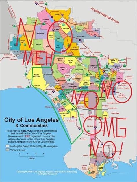 Dangerous Neighborhoods In Los Angeles Map