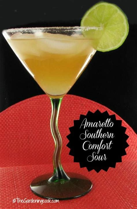 good mixed drinks with southern comfort southern comfort cocktails and sour cocktail on pinterest