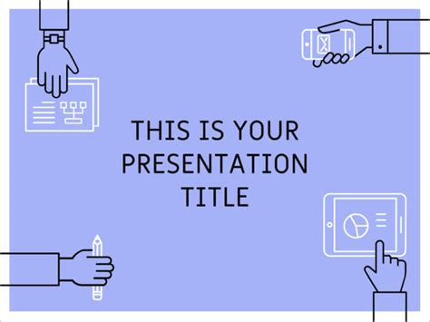 themes for work presentations free powerpoint template or google slides theme with