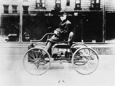first car ever made by henry ford flashback to 1896 henry ford ride the quadricycle