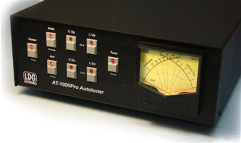 ldg  pro automatic antenna tuner