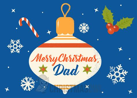 printable christmas cards for dad printable dad christmas card